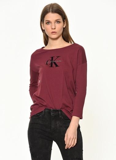 Calvin Klein Tişört Bordo